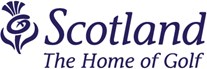 Scotland Home of Golf Logo
